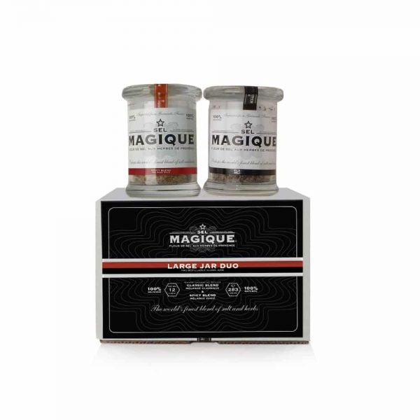 Spicy/Gourmet Salt Blends - Large Jar Duo