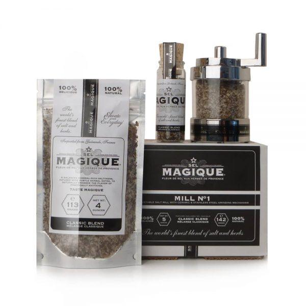 Sel Magique - Mill Set - Classic Salt Blend