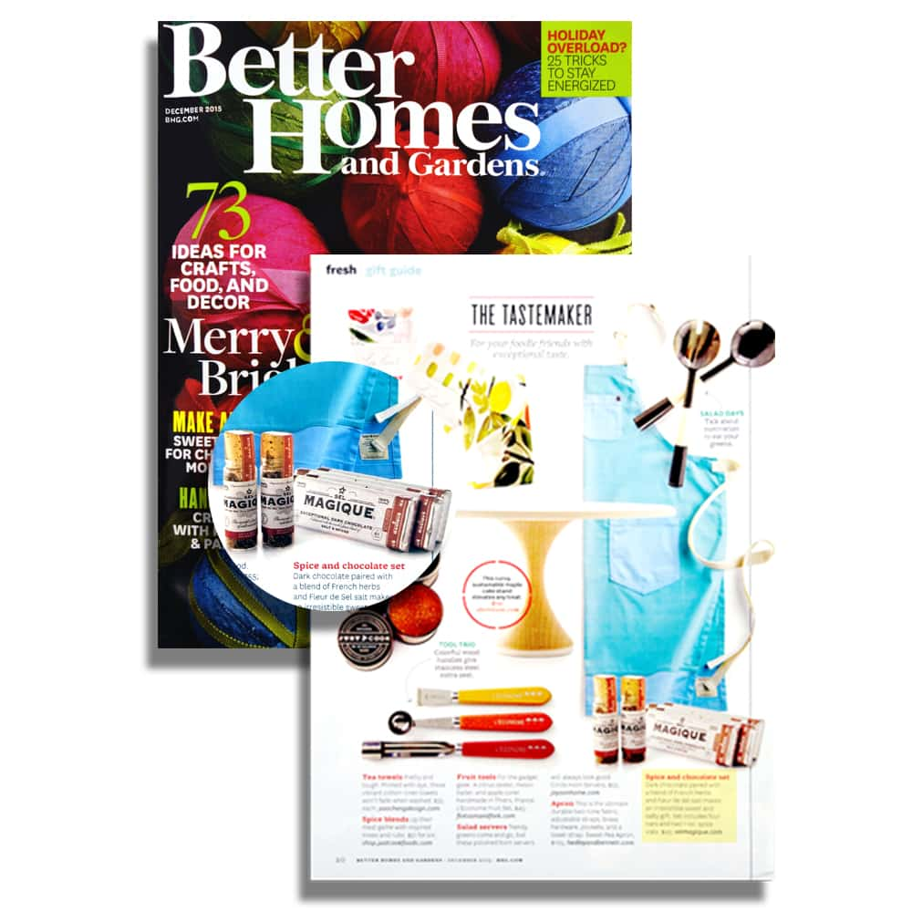 Better Homes - Press